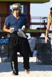 Torrie Wilson Bikini Pics - Beach in Miami 4/7/2017