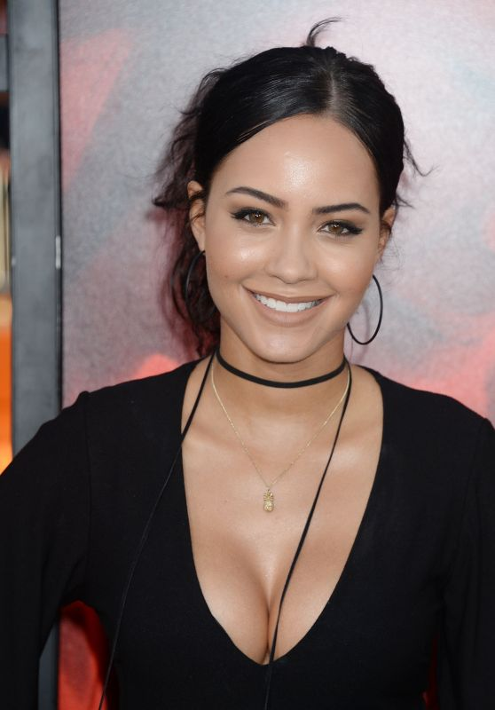 "Tristin Mays – ""Unforgettable"" Premiere in LA 4/18/2017"