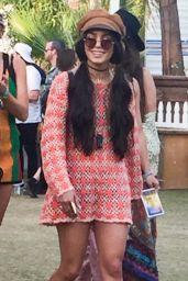 Vanessa Hudgens at Coachella Festival in Indio 4/16/2017
