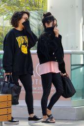 Vanessa Hudgens & Stella Hudgens Hit the Gym in Los Angeles  4/12/2017