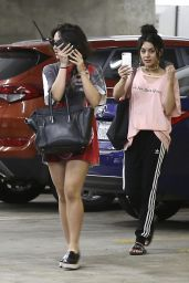 Vanessa Hudgens & Stella Hudgens - Out in Los Angeles 4/12/2017