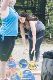 Vicky Pattison - Workout At Bootcamp in Norfolk, England 4/18/2017