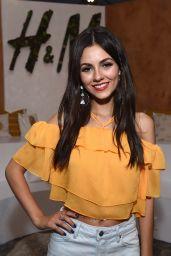 Victoria Justice at H&M Loves Coachella Tent - Coachella in Indio 4/14/2017