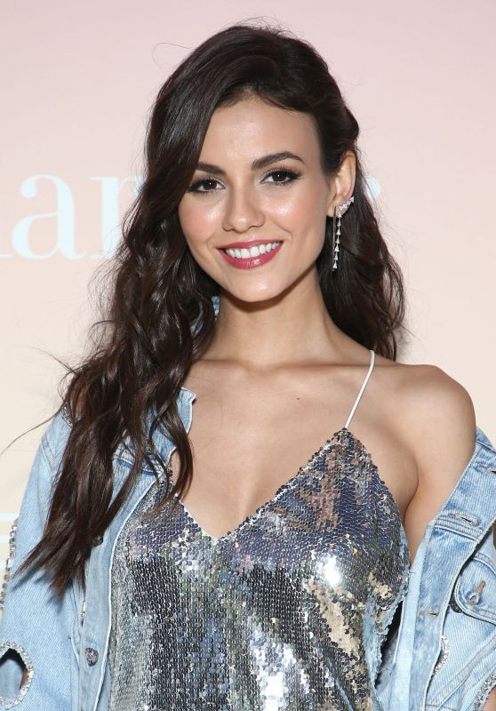 Victoria Justice at Harper's Bazaar Party in Los Angeles 04/26/2017