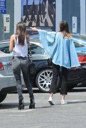 Victoria Justice in a Grunge Outfit - Sunset Boulevard in LA 04/26/2017