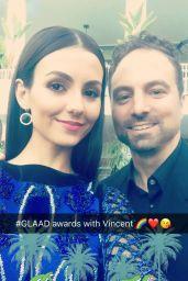 Victoria Justice Social Media Pics 4/4/2017