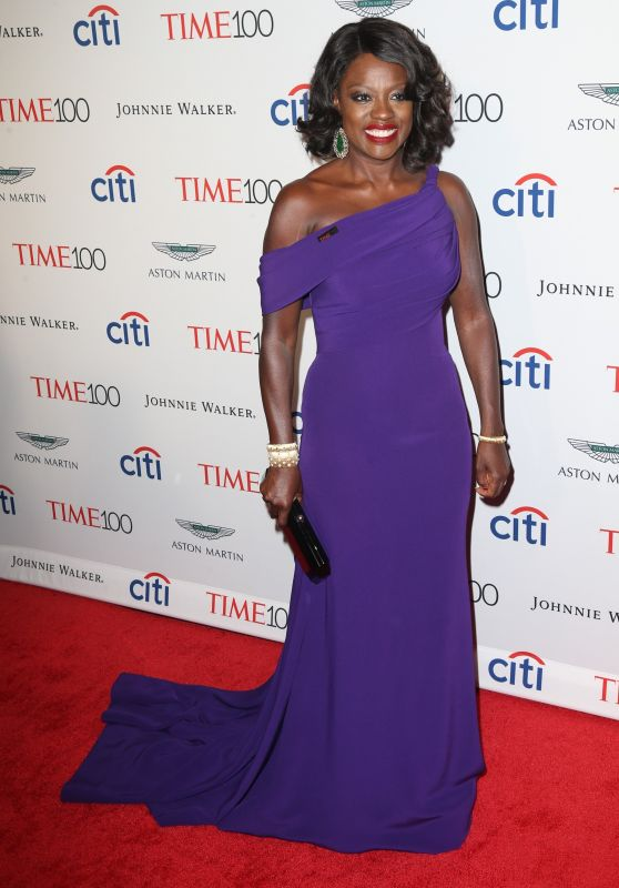 Viola Davis – Time 100 Gala at Jazz at Lincoln Center in NYC 04/25/2017