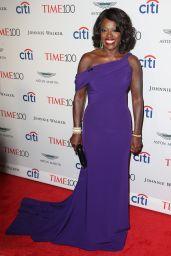 Viola Davis – Time 100 Gala at Jazz at Lincoln Center in NYC 04/25/2017