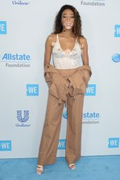Winnie Harlow at WE Day California in Los Angeles 04/27/2017