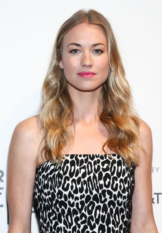 "Yvonne Strahovski - ""The Handmaid's Tale"" Premiere during Tribeca Film Festival 4/21/2017"