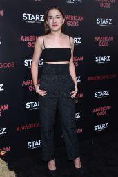 "Zelda Williams – ""American Gods"" Premiere in Los Angeles 4/20/2017"