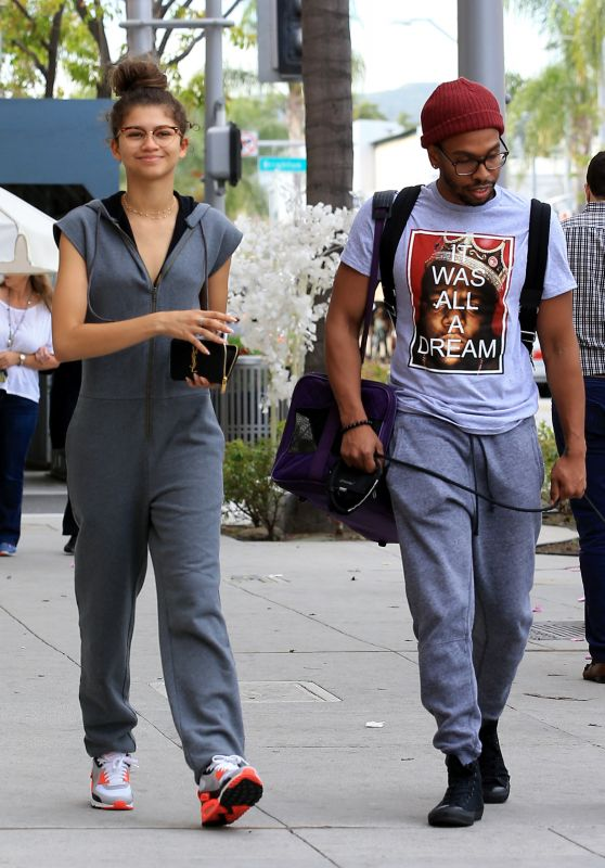 Zendaya Street Style -Out in LA 04/26/2017
