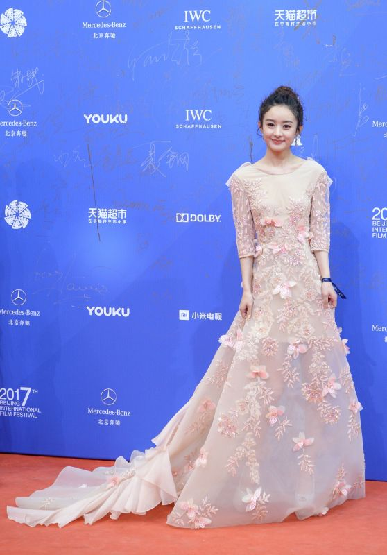 Zhao Liying at Beijing International Film Festival, China 4/16/2017