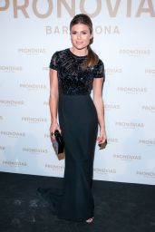 Zoe Hardman – Barcelona Photocall at the Pronovias Catwalk Show 04/28/2017