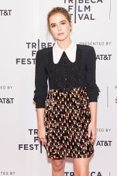 "Zoey Deutch - ""Flower"" Screening at Tribeca Film Festival 4/20/2017"