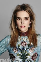 Zoey Deutch – Marie Claire Magazine, May 2017
