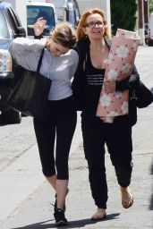 Zoey Deutch With Her Mother - Beverly Hills 4/13/2017