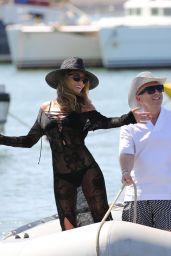 """Abbey Clancy - Bikini Photoshoot For """"Britain's Next Top Model"""" on Yacht in Cape Verde 5/10/2017"""