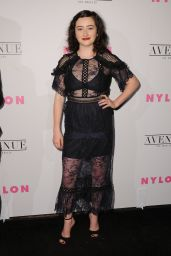 Abby Quinn – NYLON Young Hollywood Party in LA 05/02/2017