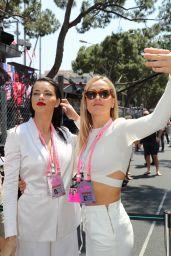 Adriana Lima and Carmen Jorda - Monaco Formula 1 Grand Prix in Monte Carlo 05/28/2017