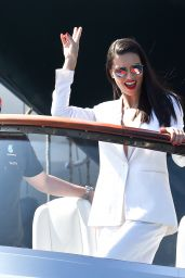 Adriana Lima and Carmen Jorda on a Yacht in Monte Carlo 05/28/2017