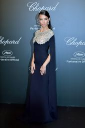 Adriana Lima at Chopard Space Party in Cannes, France 05/19/2017