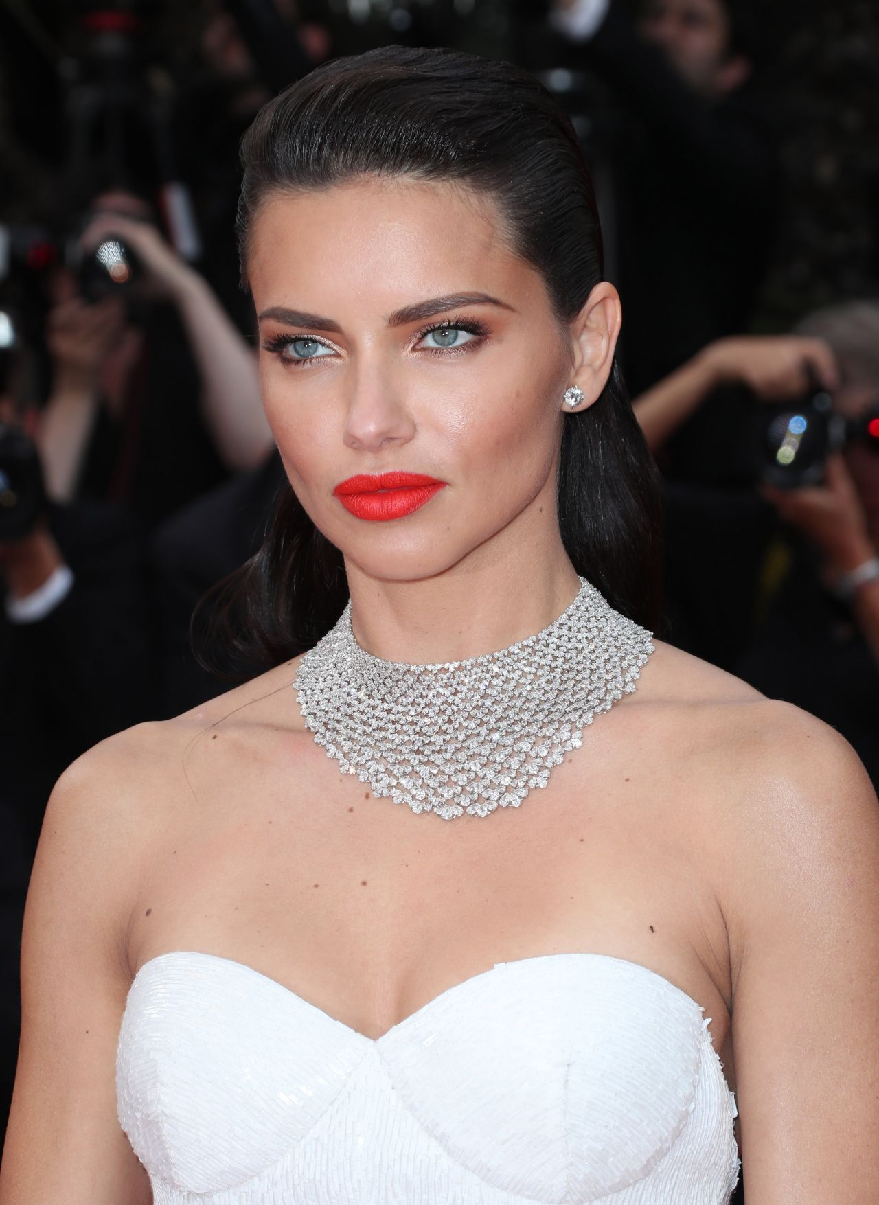 Adriana Lima at Chopard Space Party in Cannes, France 05
