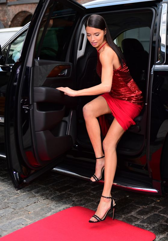 "Adriana Lima - ""Red Hot"" Photoshoot 05/10/2017"
