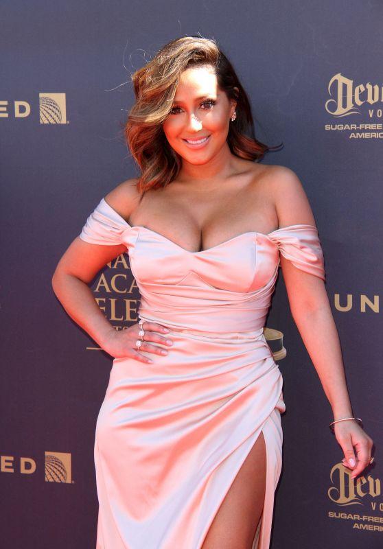 Adrienne Bailon – Daytime Emmy Awards in Los Angeles 04/30/2017