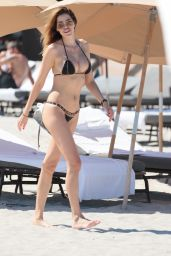 Aida Yespica Bikini Photos - Beach in Miami, May 2017