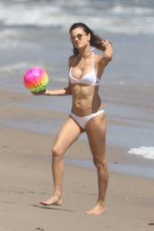 Alessandra Ambrosio Shows Off Her Bikini Body - Malibu, CA 05/28/2017
