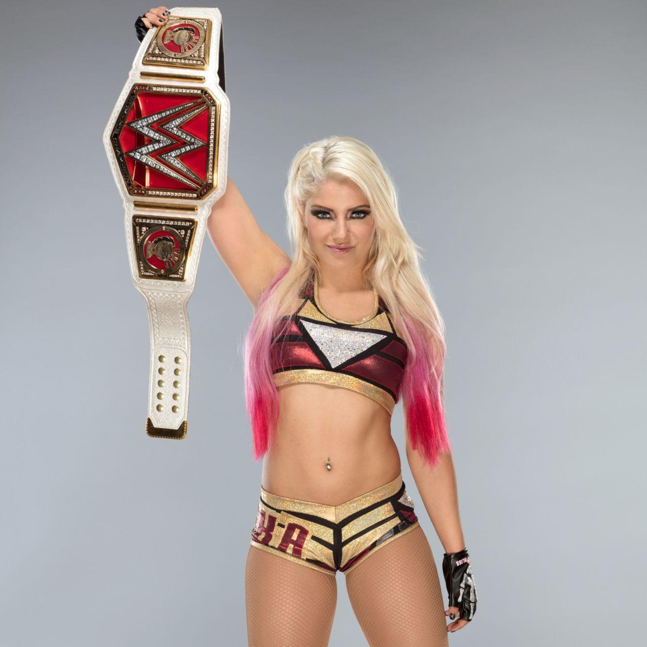 Alexa Bliss New Raw Women S Championship May 2017