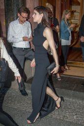 Alexandra Daddario at the Borchardt Restaurant in Berlin 05/30/2017