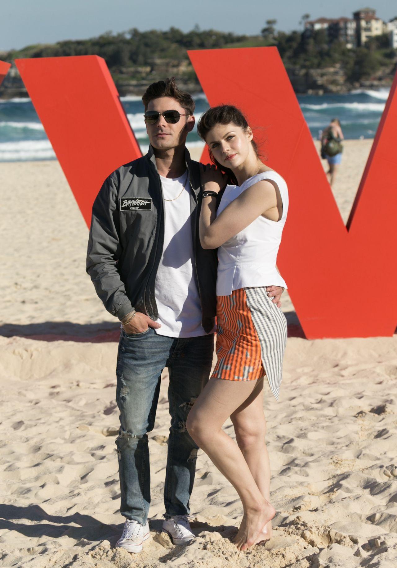 Alexandra Daddario Quot Baywatch Quot Photo Call At Bondi Beach