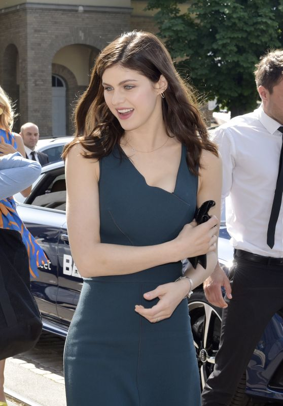 Alexandra Daddario in Berlin, Germany 05/29/2017