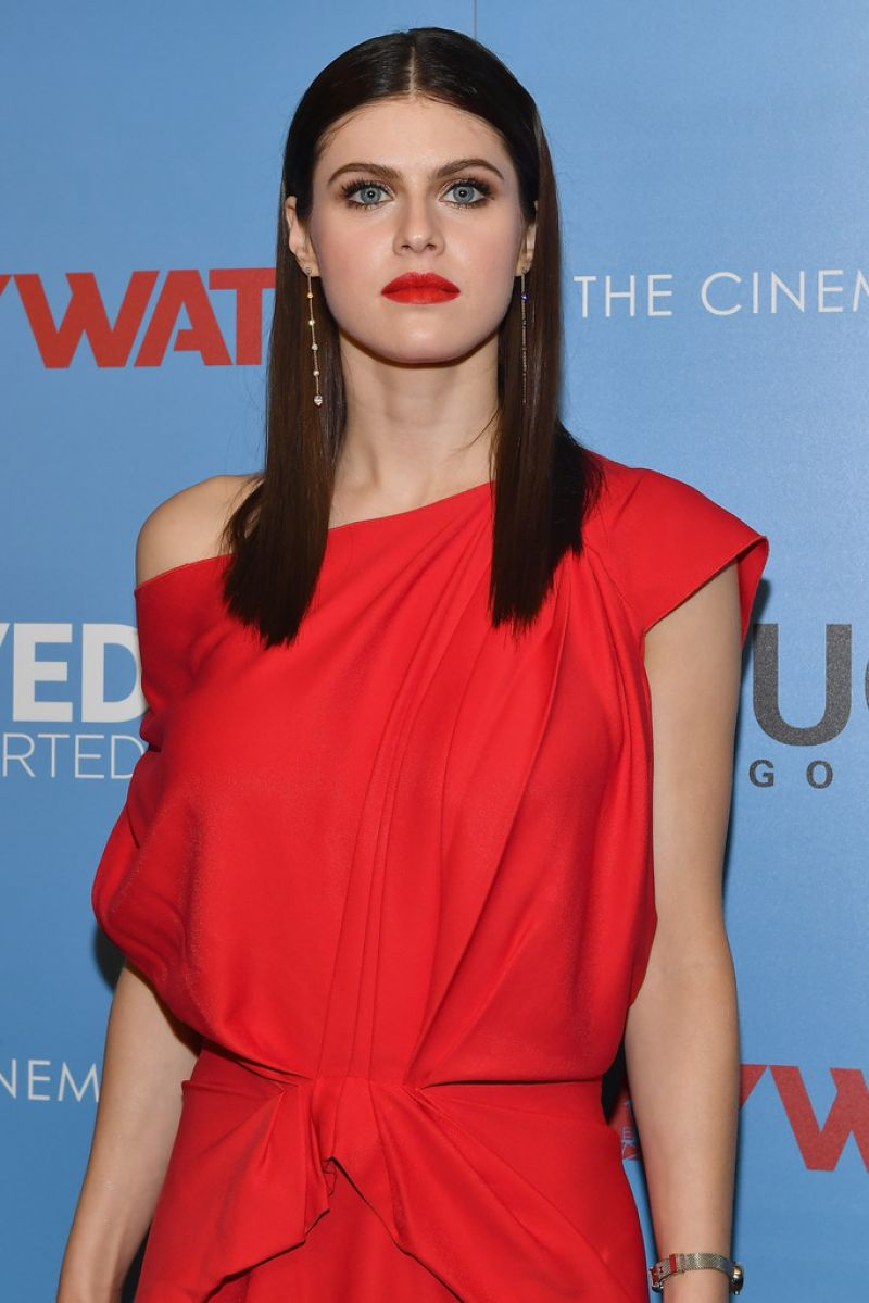 Alexandra Daddario The Cinema Society Screening Of