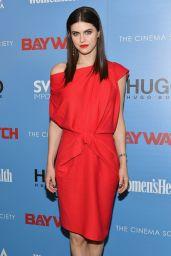 Alexandra Daddario - The Cinema Society Screening of Baywatch in NY 5/22/2017