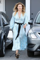 Ali Larter Gets a Fresh Cut at Meche Salon in Beverly Hills 05/03/2017