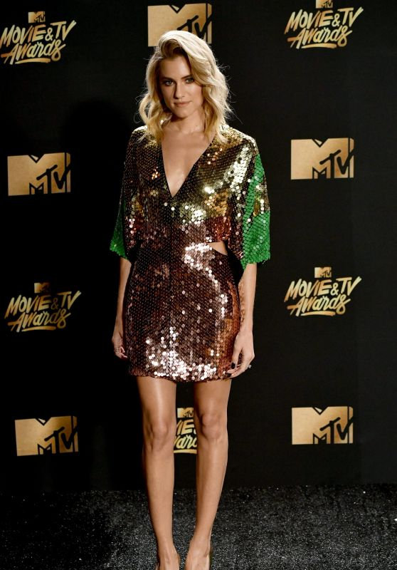 Allison Williams – MTV Movie and TV Awards in Los Angeles 05/07/2017