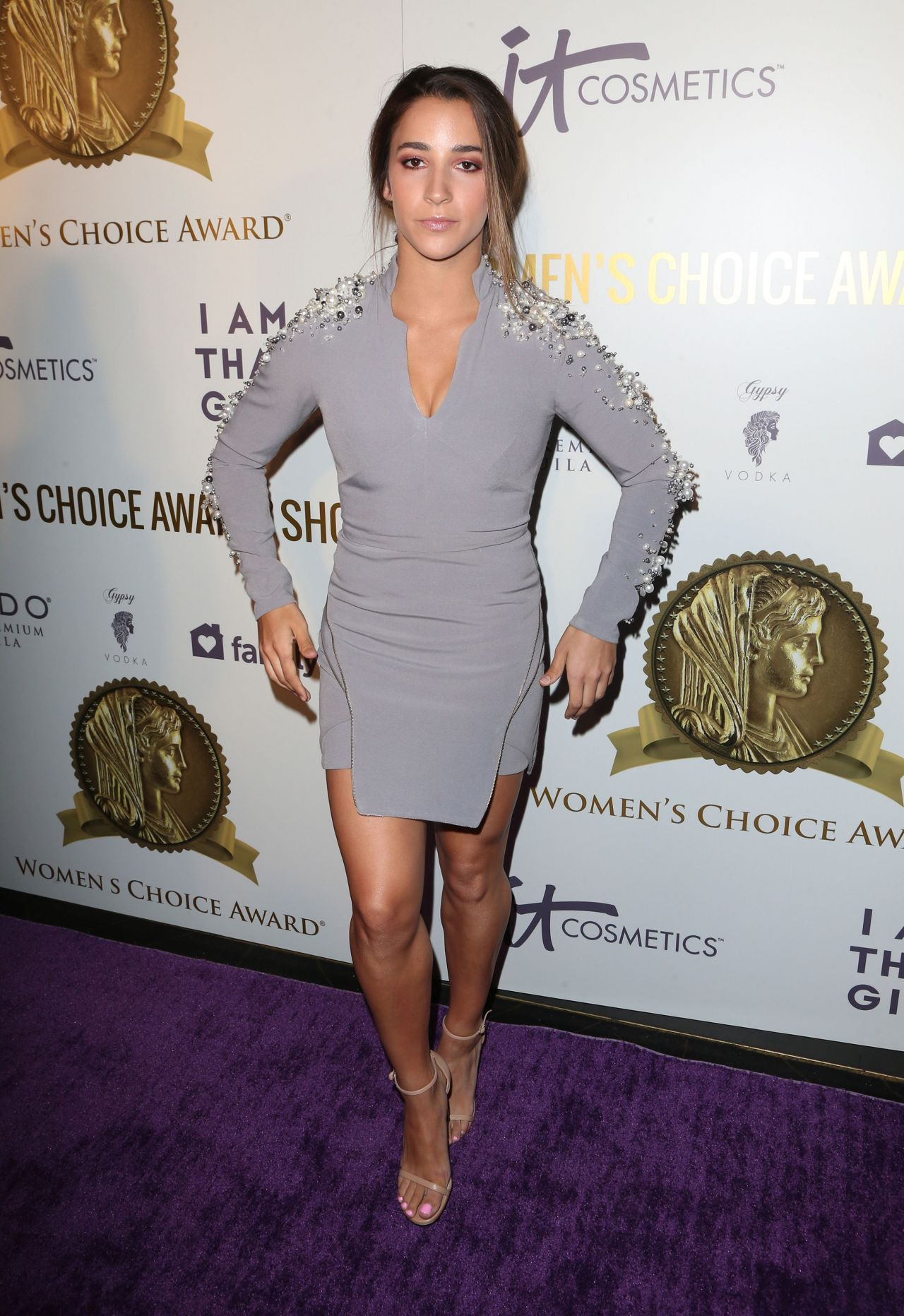 Aly Raisman Women S Choice Awards In Los Angeles 05 17 2017