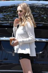 Amanda Seyfried Leggy in Shorts - Out in West Hollywood 05/08/2017
