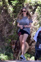 Amanda Seyfried Leggy in Shorts - West Hollywood 05/01/2017