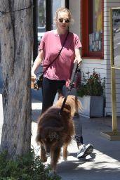 Amanda Seyfried Walking Her Dog - West Hollywood 05/16/2017