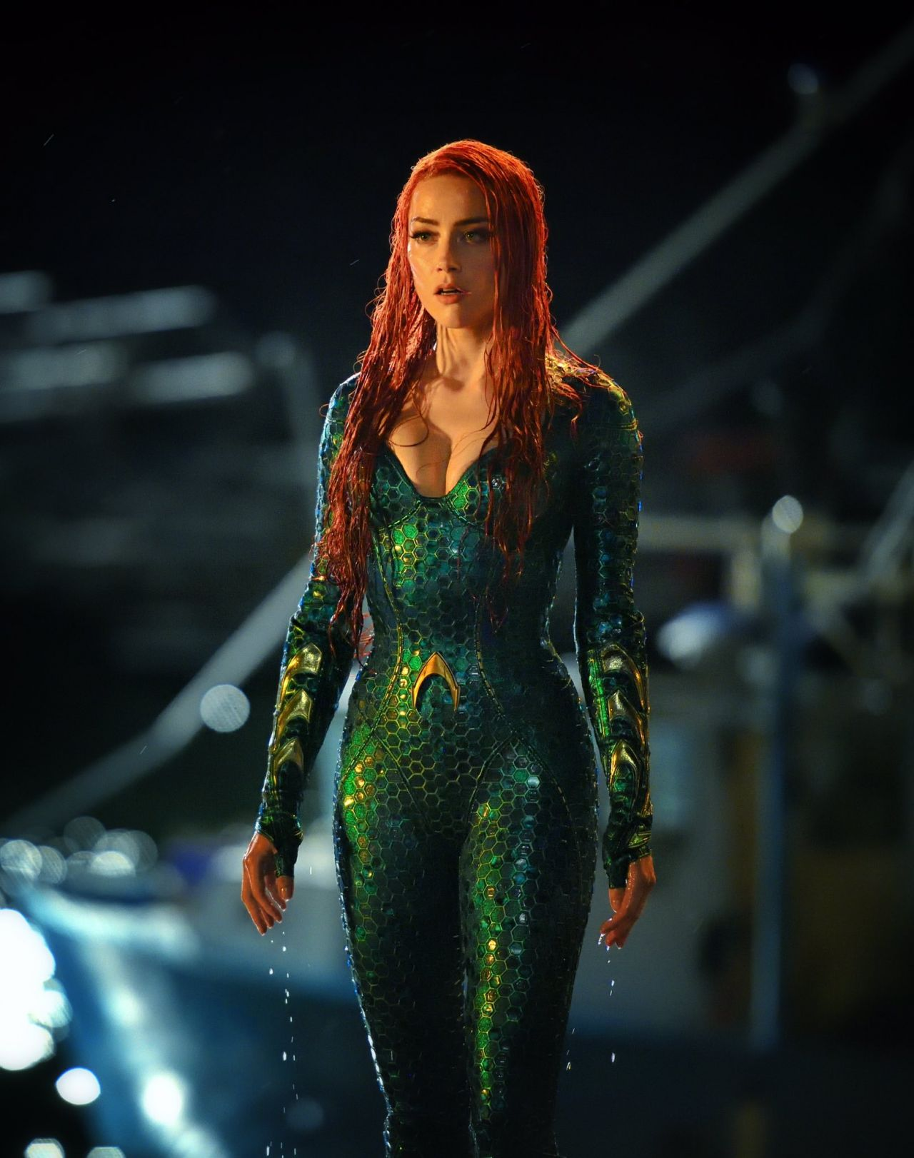 Amber Heard - Aquaman Movie Photos (2018) Amber Heard Movies