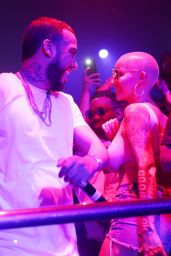 Amber Rose at LIV in Miami 05/12/2017