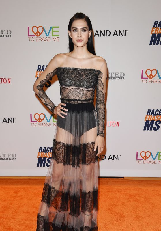 Amelia Gray Hamlin - Race to Erase MS Gala in Beverly Hills 05/05/2017