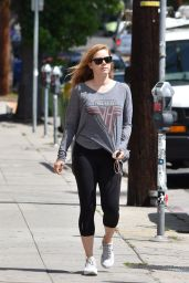 Amy Adams in Leggings - Beverly Hills 05/11/2017