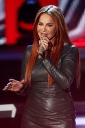 Andrea Berg Performs at Willkommen bei Carmen Nebel TV Show in Berlin 05/20/2017