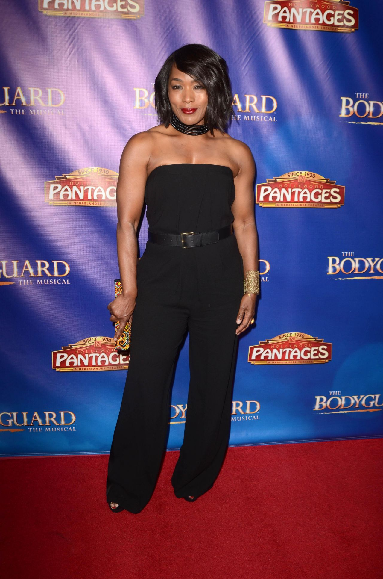 "Angela Bassett – ""The Bodyguard"" Opening Night in Los ..."