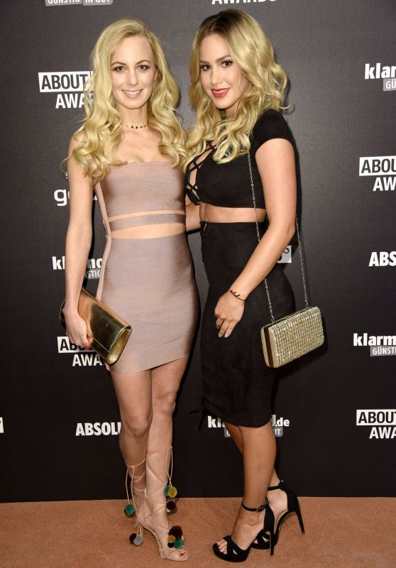 Angelina Heger & Syra Feiser – About You Awards in Hamburg 05/04/2017